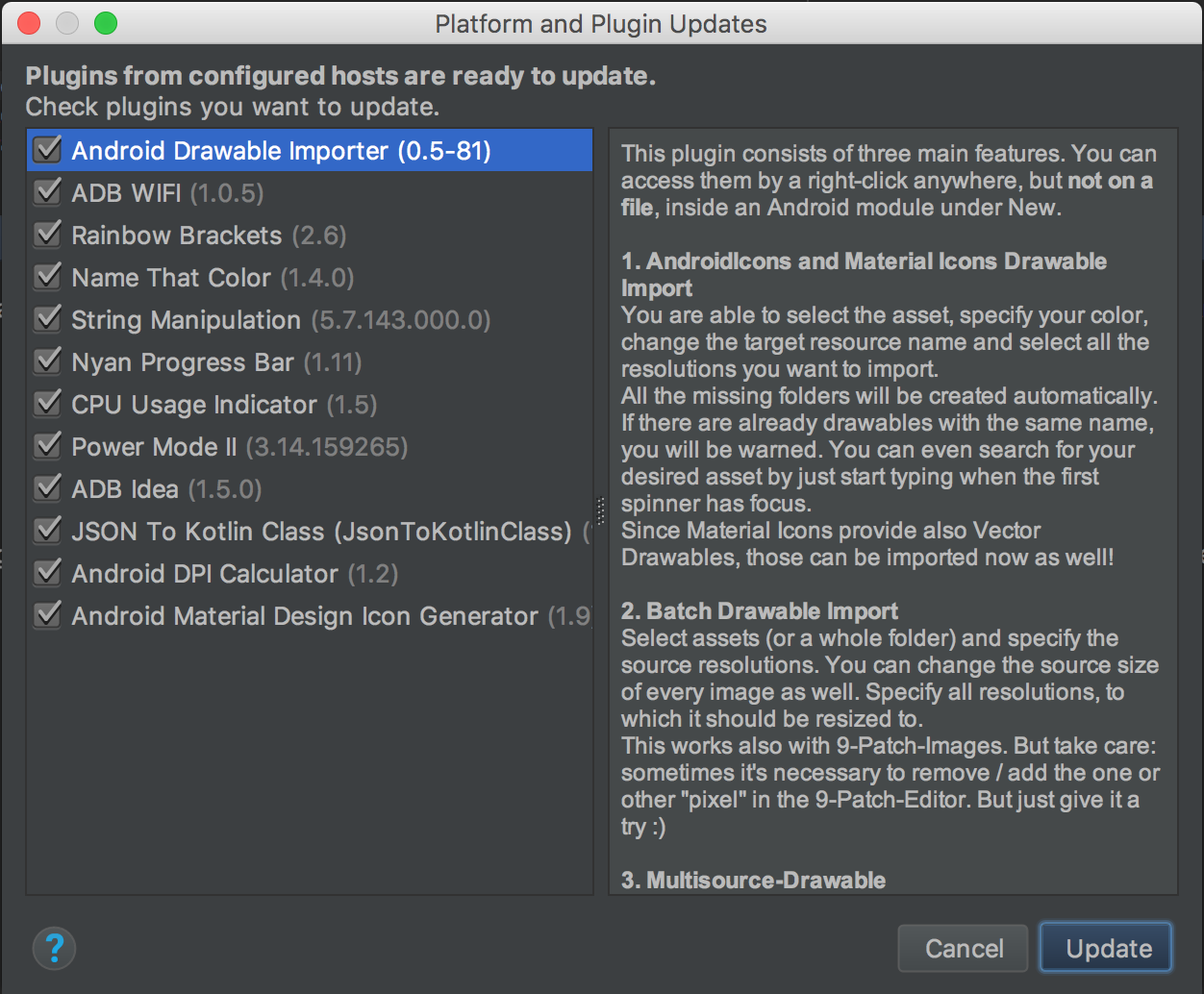 Top 12 plugins for Android Studio | Angry Nerds